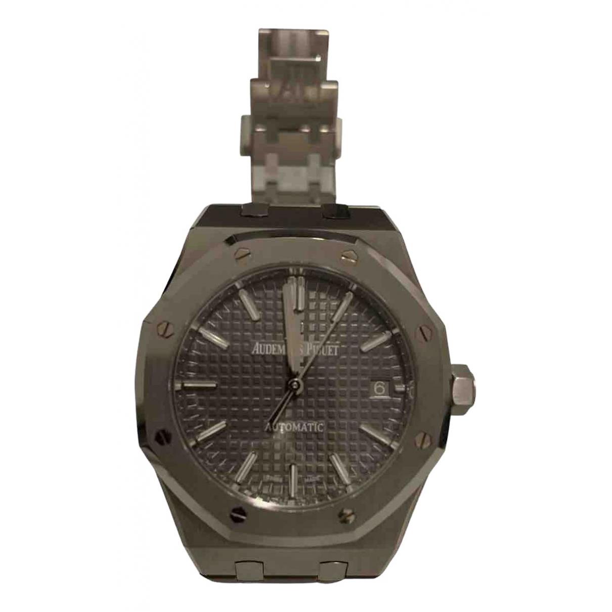 Audemars Piguet Royal Oak Lady Uhr in  Anthrazit Stahl