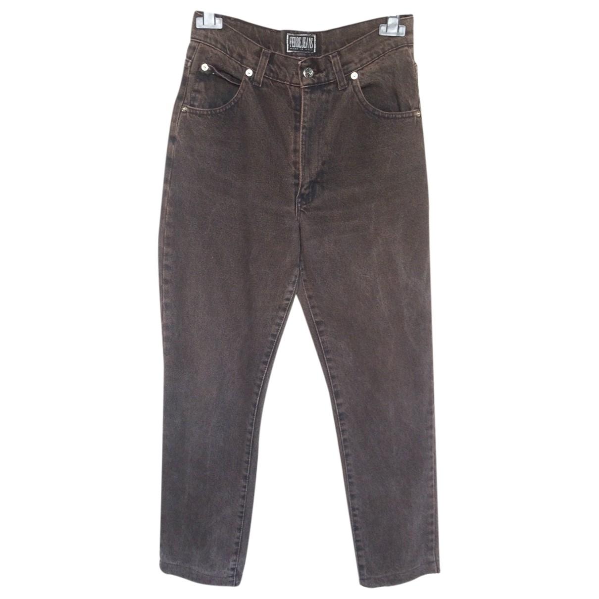 Gianfranco Ferré \N Grey Denim - Jeans Jeans for Women 32 US