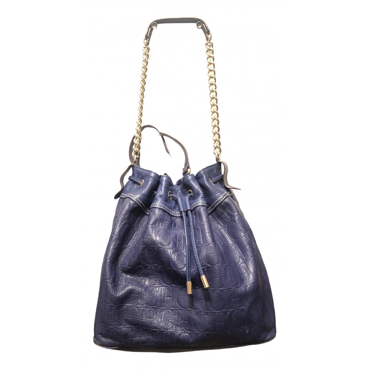 Carolina Herrera \N Blue Fur handbag for Women \N