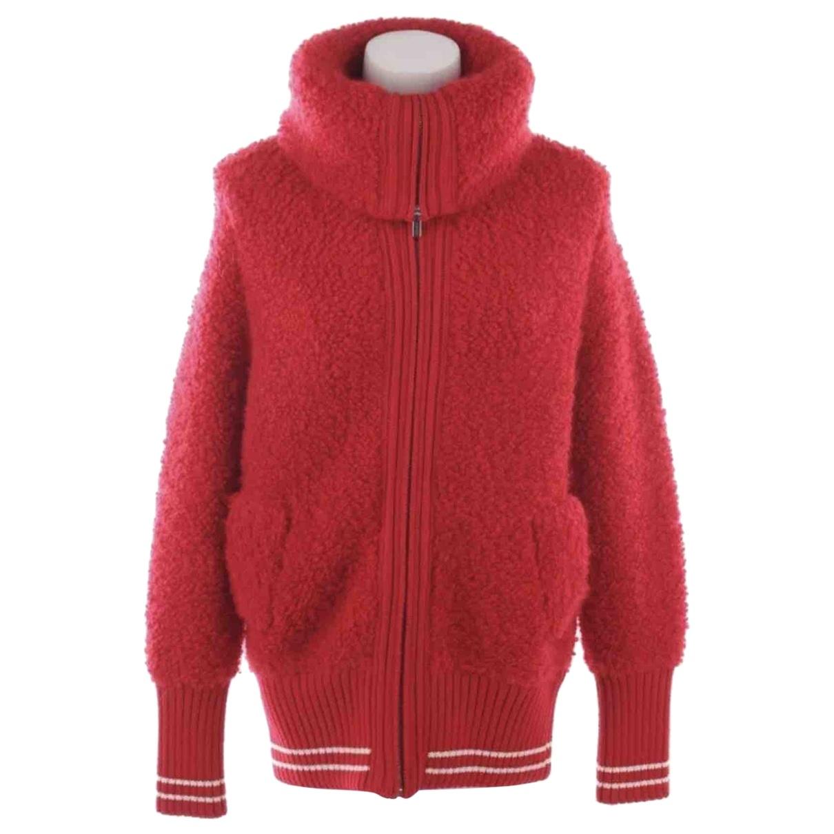 Miu Miu \N Red Wool jacket for Women 32 FR