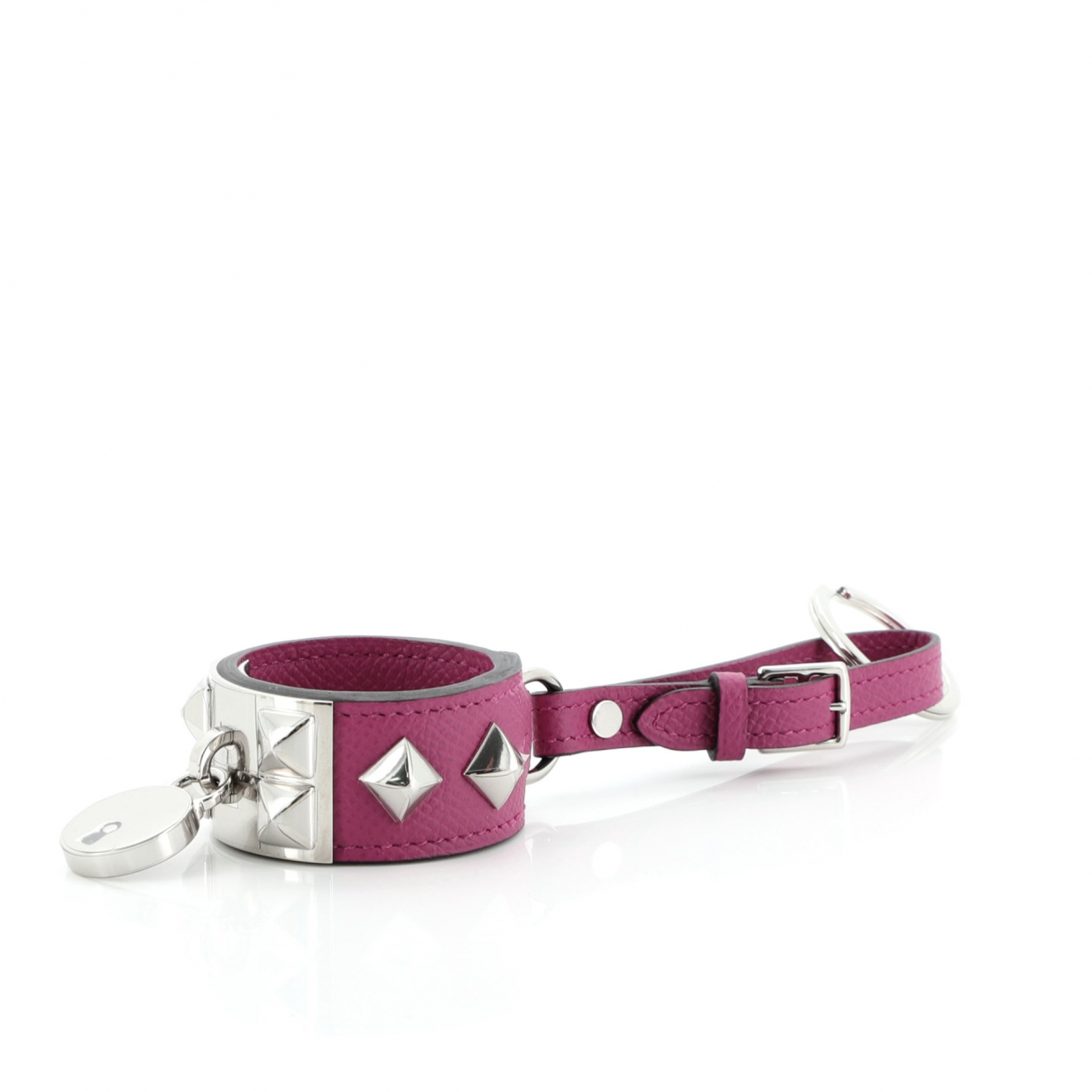 Hermès \N Purple Leather Bag charms for Women \N