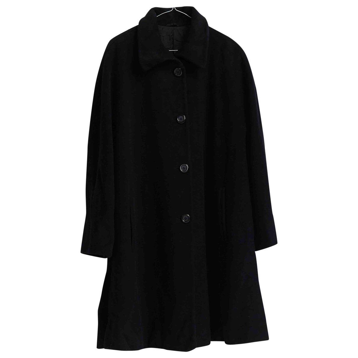 Krizia \N Black Wool coat for Women 44 IT