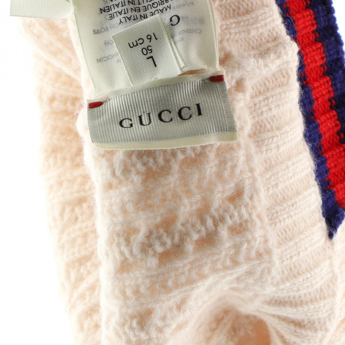 Gucci \N Haarschmuck in  Weiss Leder
