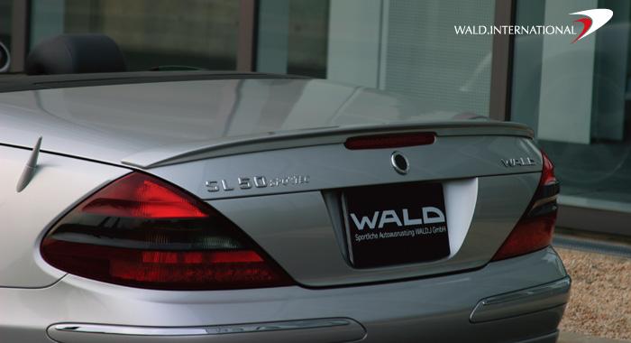 Wald International R230.TL.03 Executive Trunk Wing Mercedes SL500 / SL600 03-06