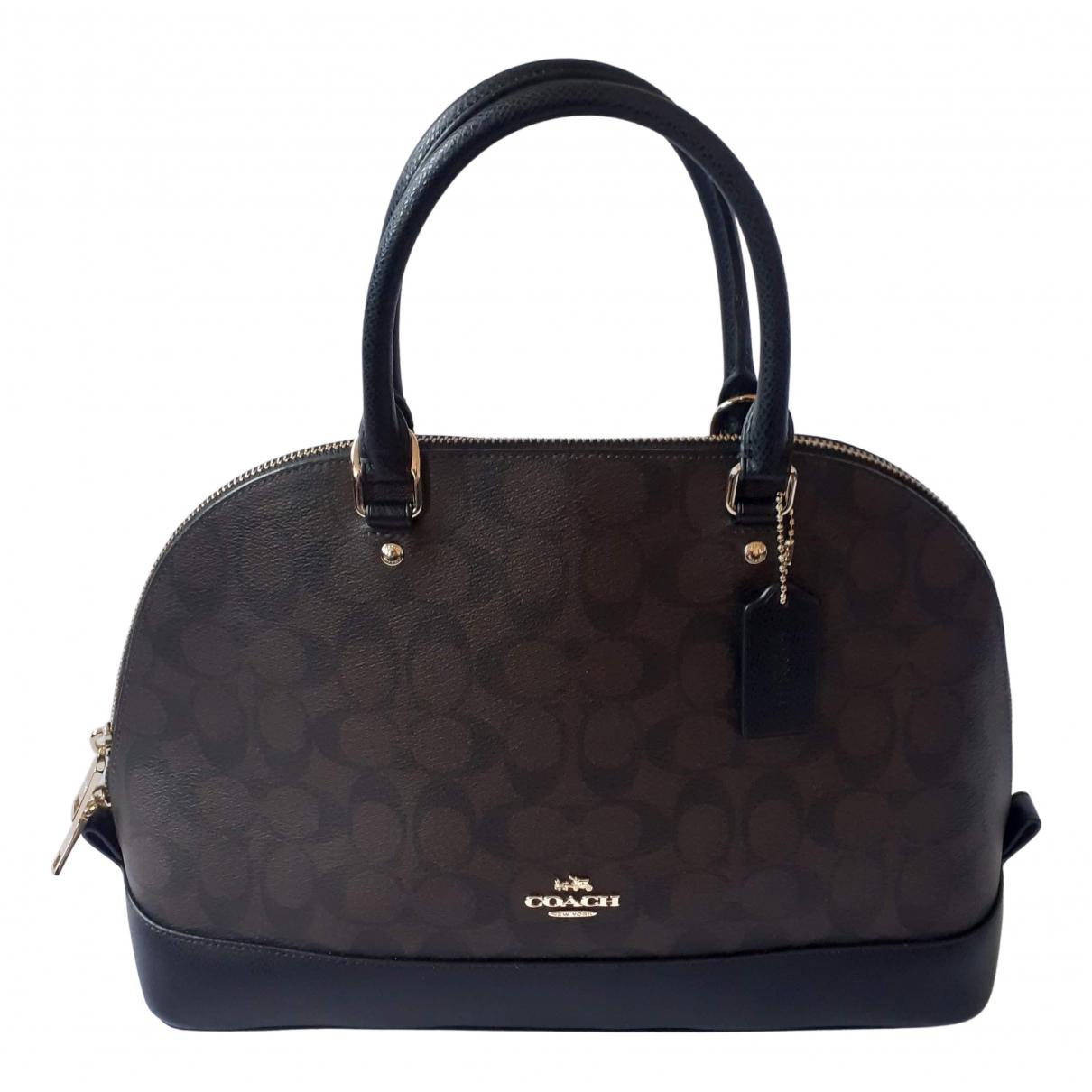 Coach Cartable mini sierra Brown Cloth handbag for Women N