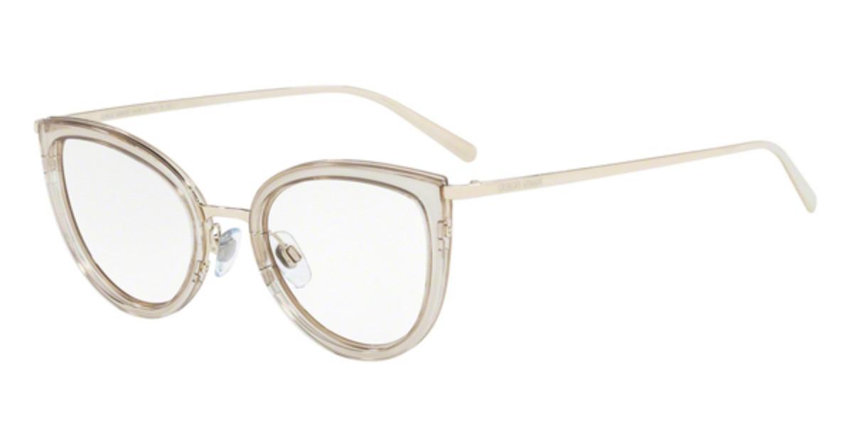 Giorgio Armani AR5068 3013 Women's Glasses Clear Size 52 - Free Lenses - HSA/FSA Insurance - Blue Light Block Available