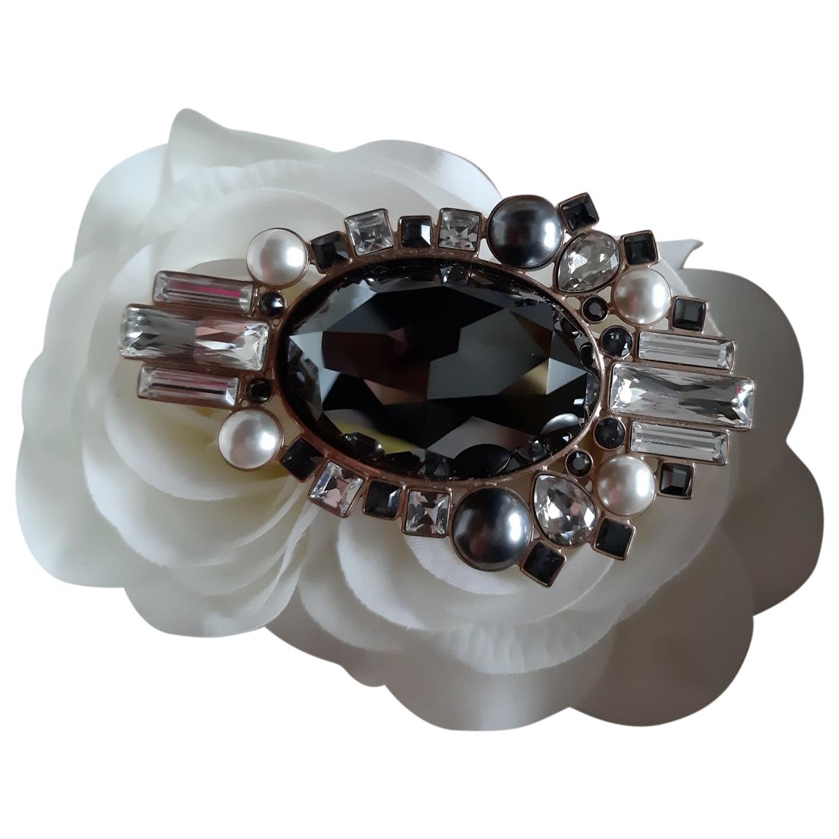 Swarovski - Broche   pour femme en metal - rose