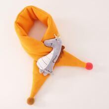Pañuelo de niñitos con diseño de animal de dibujos animados