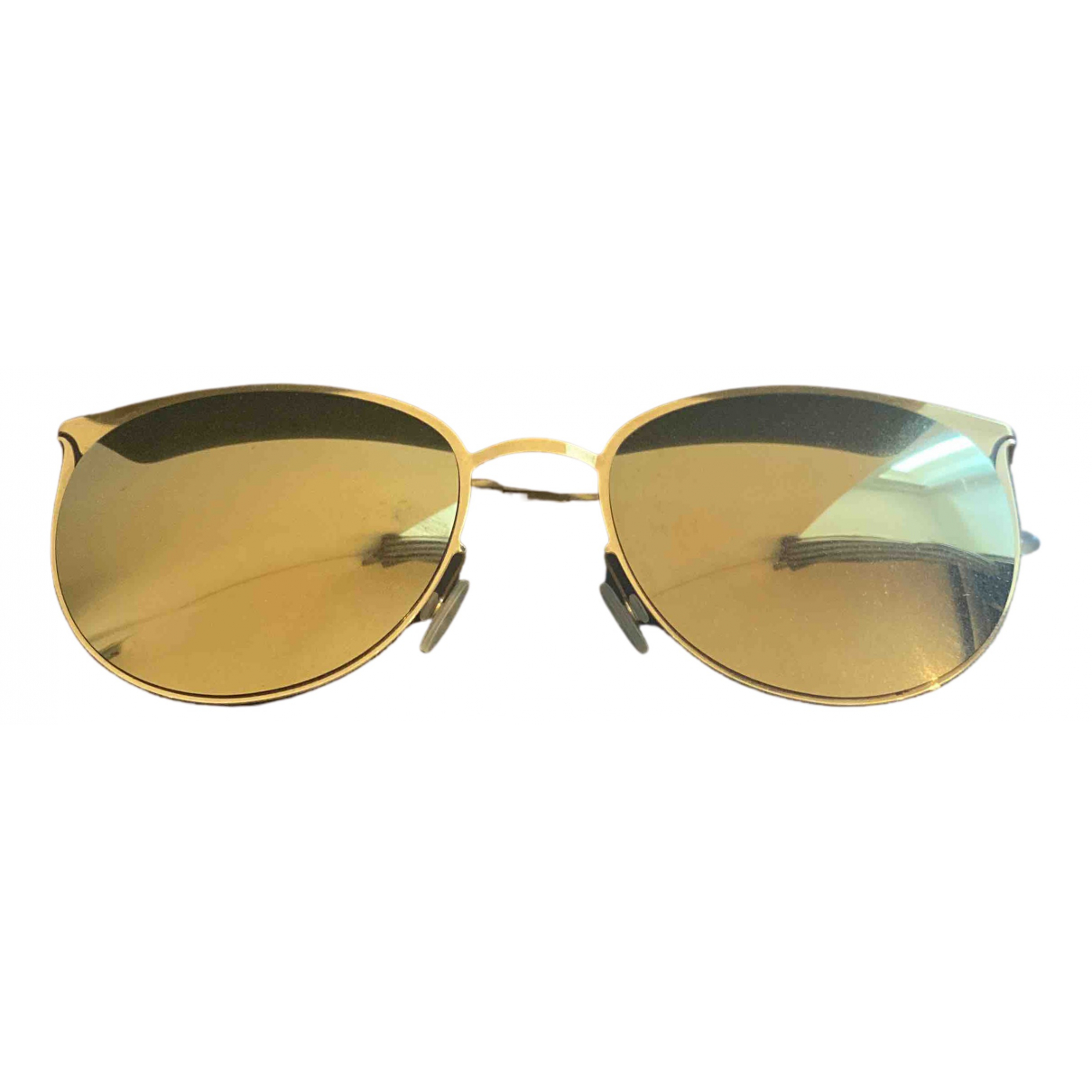 Mykita \N Sonnenbrillen in  Gold Metall