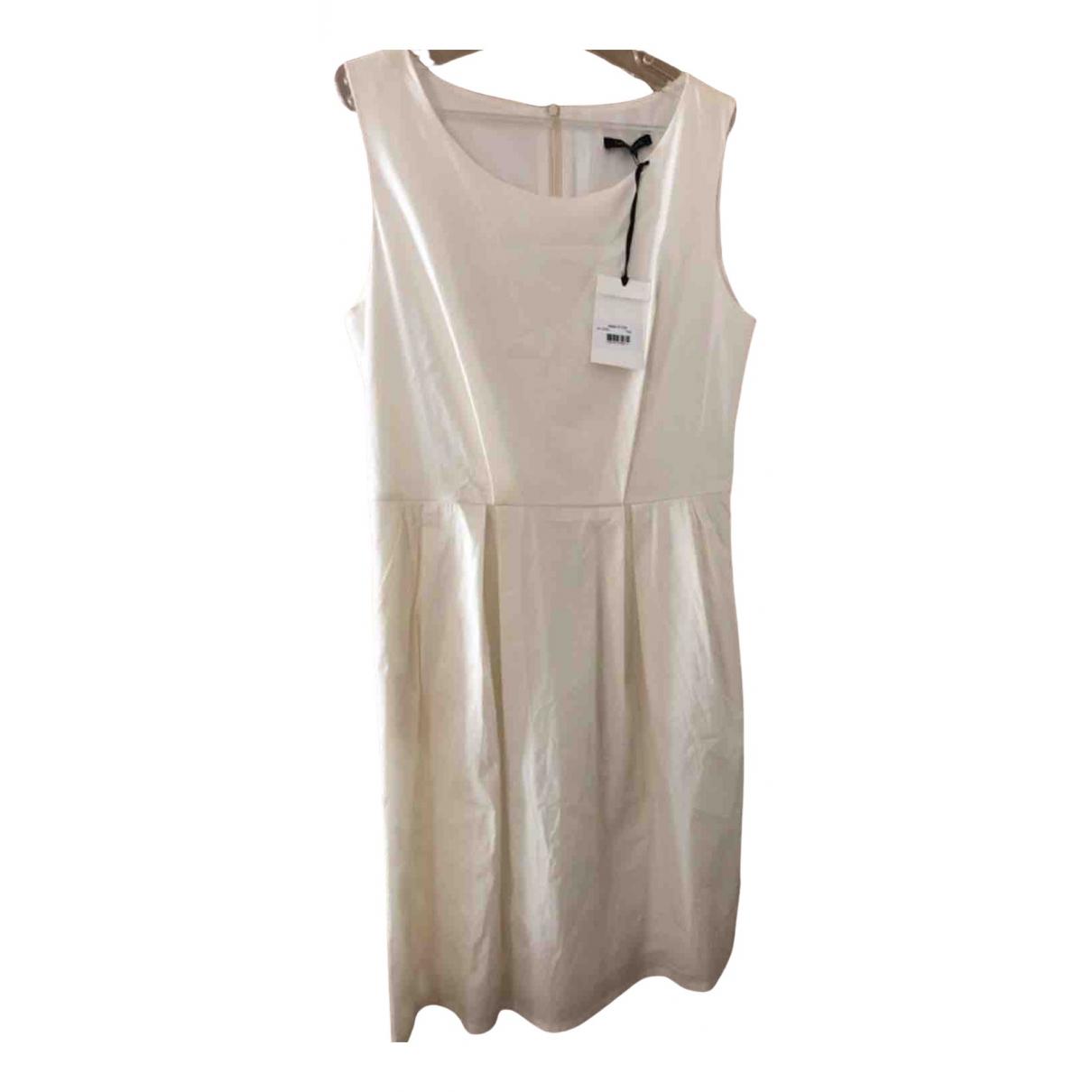 Tara Jarmon \N Kleid in  Ecru Baumwolle
