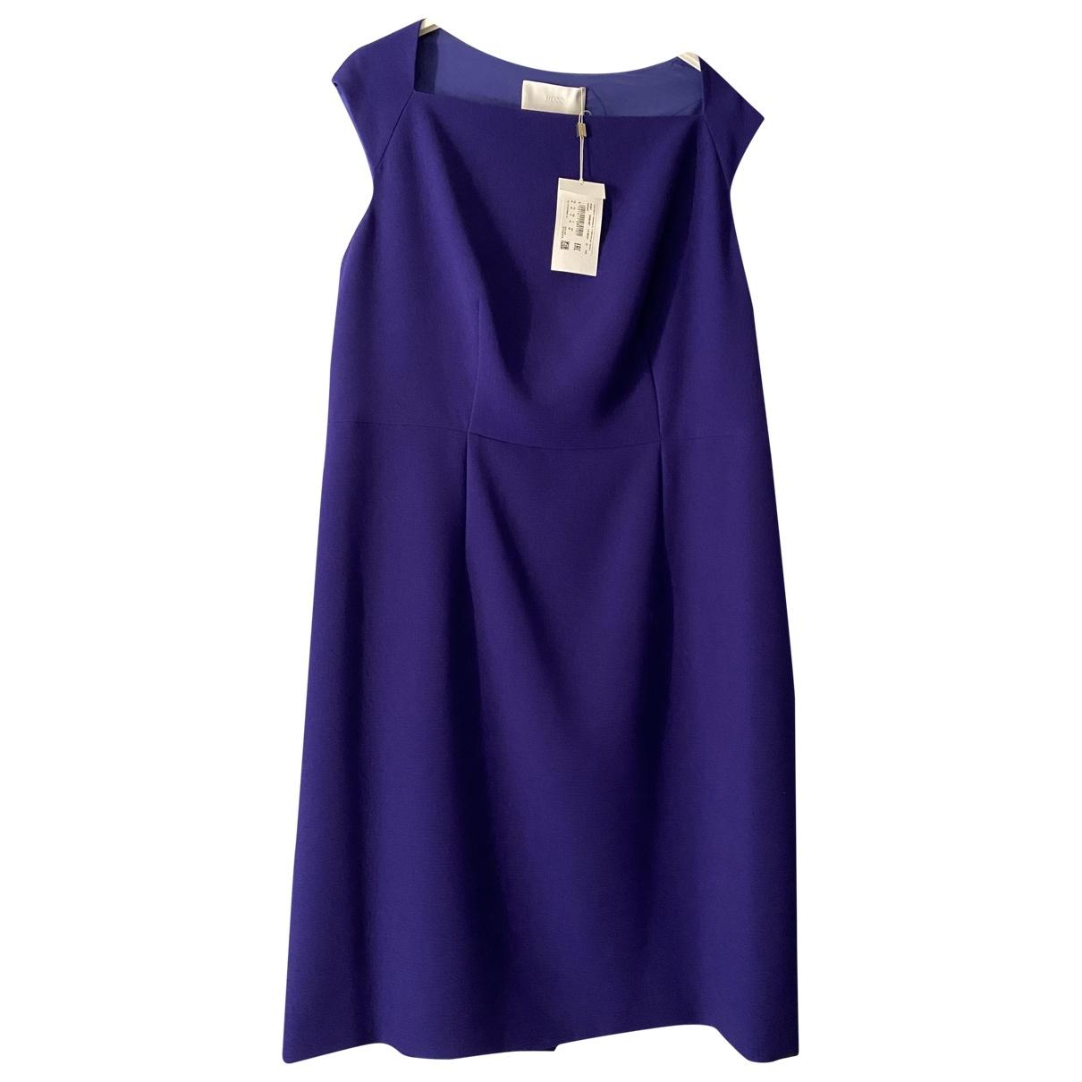 Boss \N Purple dress for Women 48 FR