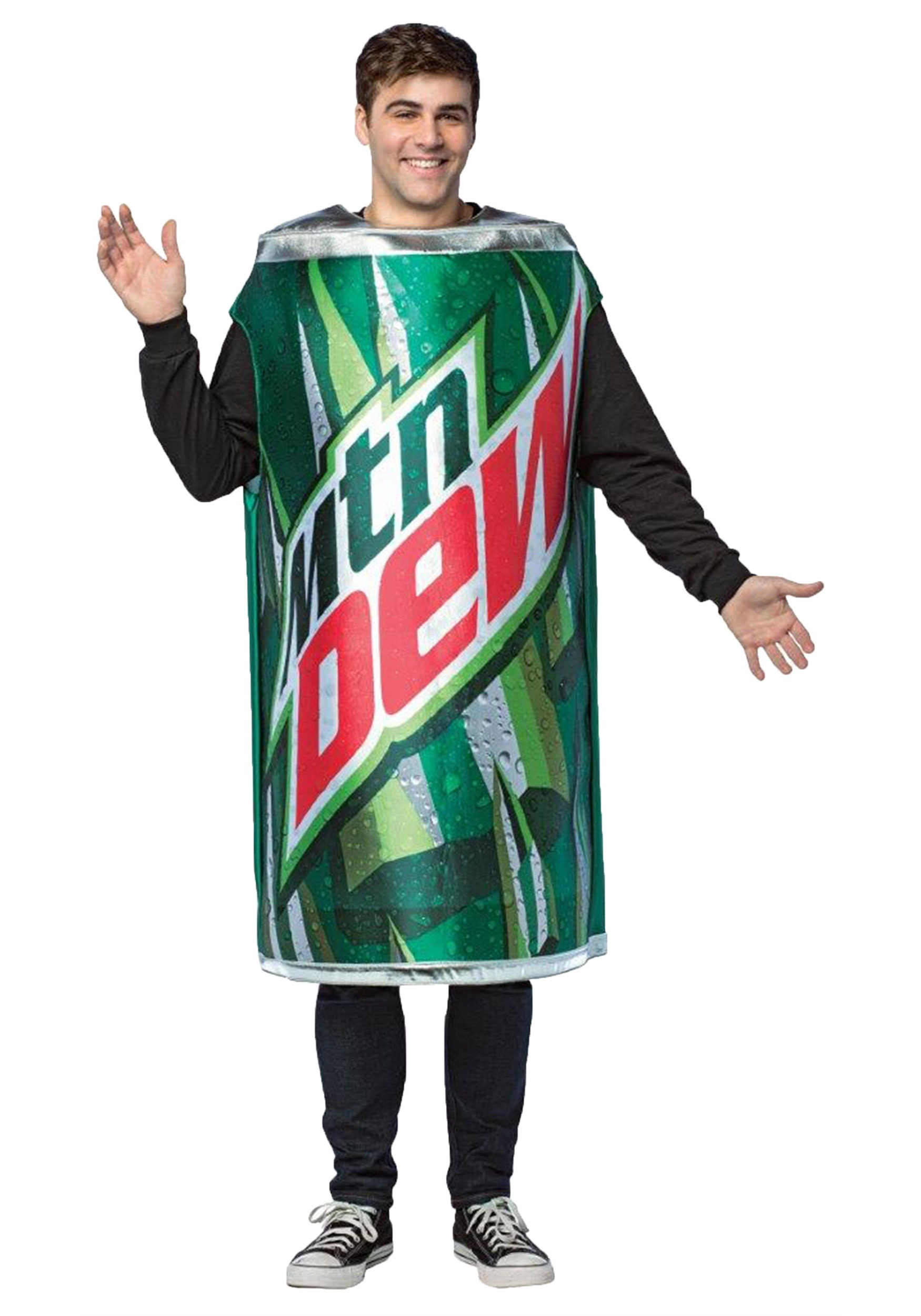 Can of Mountain Dew Adult Costume