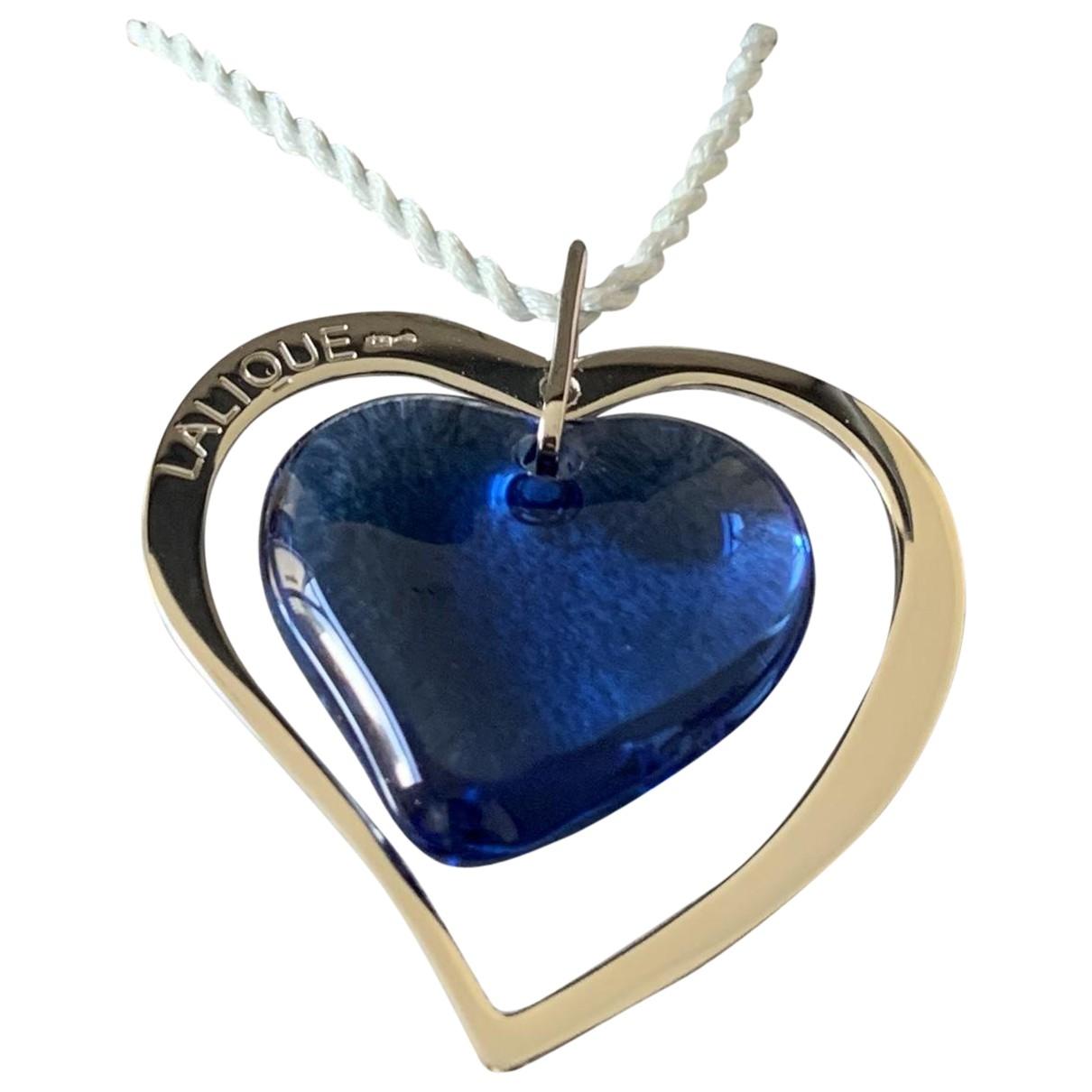 Lalique - Pendentif   pour femme en cristal - bleu