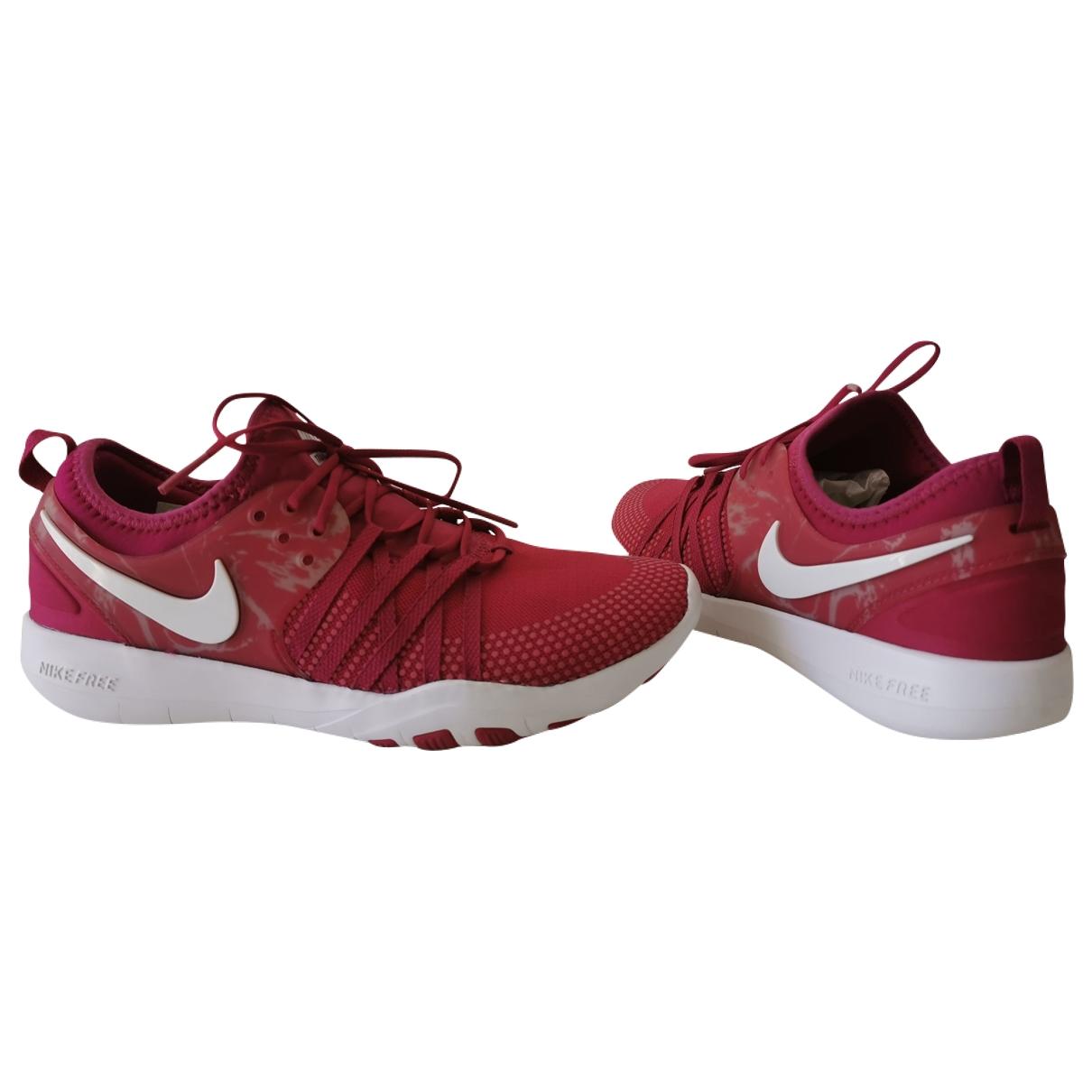 Nike - Baskets Free Run pour femme - rose