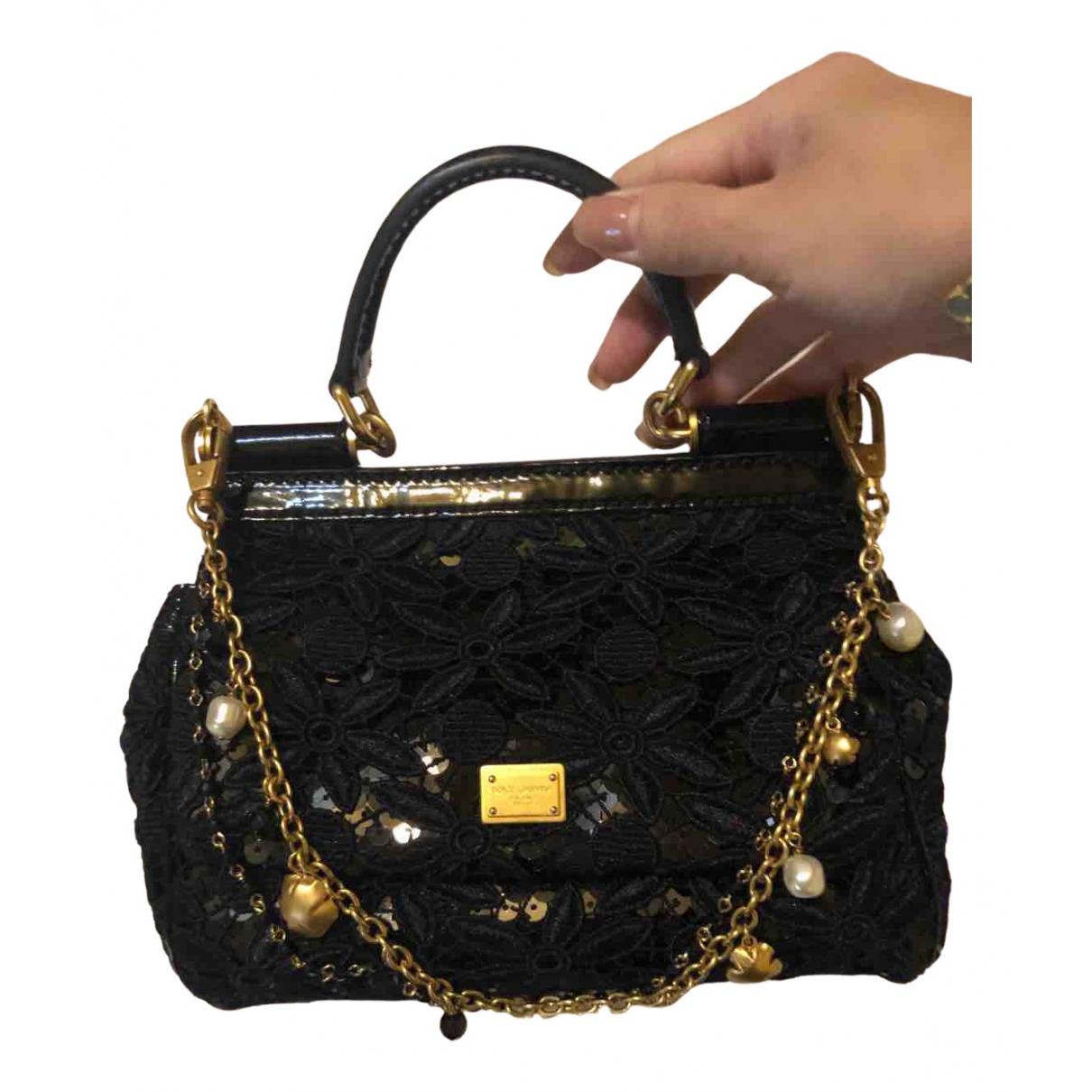 Bolso  Sicily 62 de Lona Dolce & Gabbana