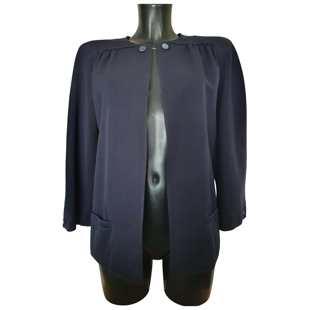 Valentino Garavani \N Blue Cotton jacket for Women 38 IT