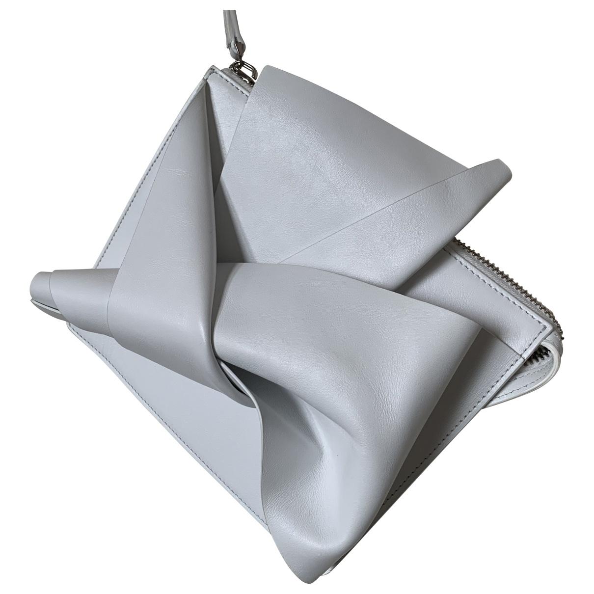 N°21 \N White Leather handbag for Women \N