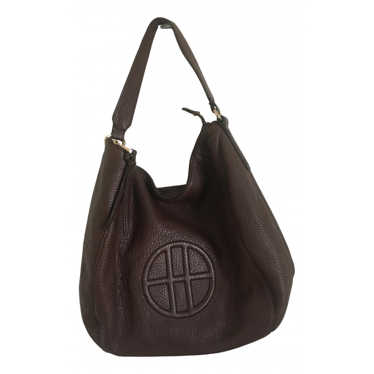 Boss N Brown Leather handbag for Women N