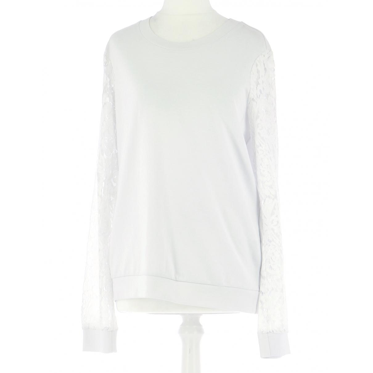 Twin Set \N Pullover.Westen.Sweatshirts  in  Weiss Viskose