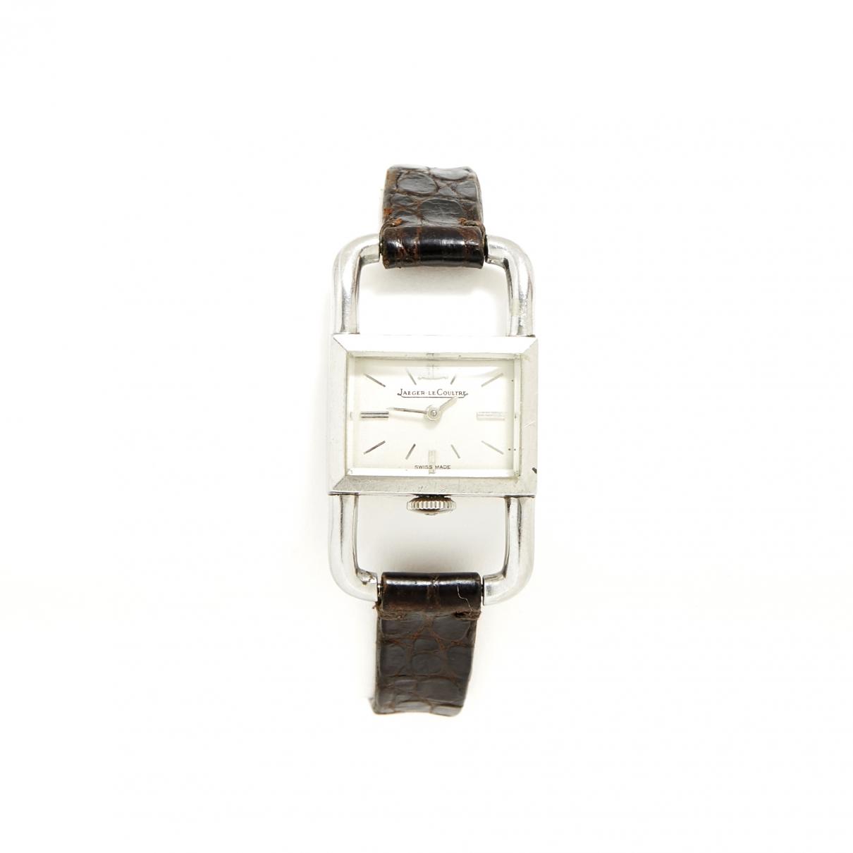 Jaeger-lecoultre Etrier Uhr in  Silber Stahl
