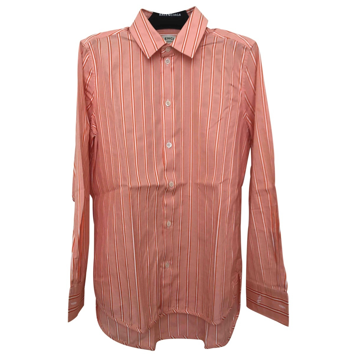 Balenciaga \N Top in  Orange Baumwolle