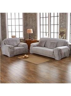 Waterproof Slip Resistant Simple Style Cotton Blends Sofa Slipcover