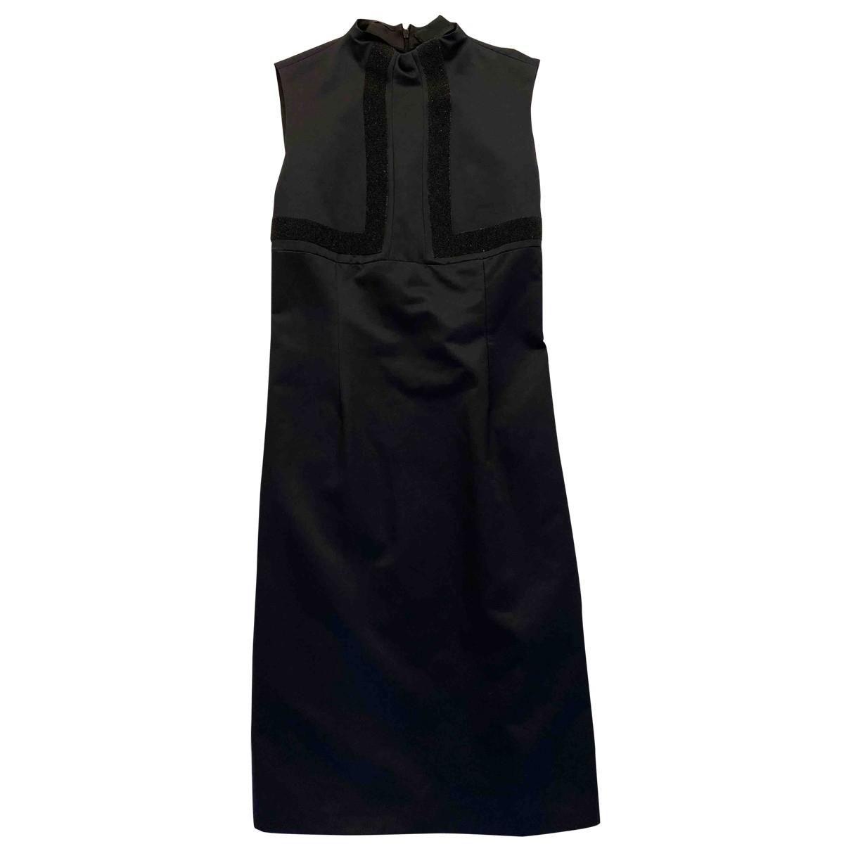 Fendi \N Black Cotton - elasthane dress for Women 42 IT