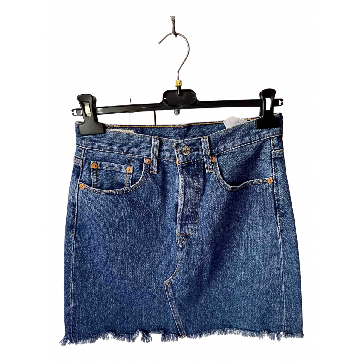 Levi's \N Blue Denim - Jeans skirt for Women 40 IT