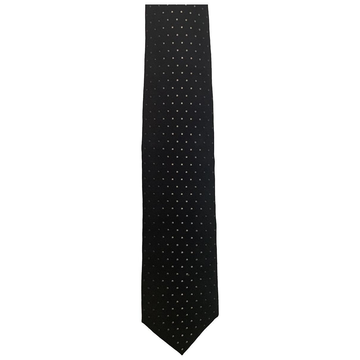 Prada \N Krawatten in  Schwarz Seide