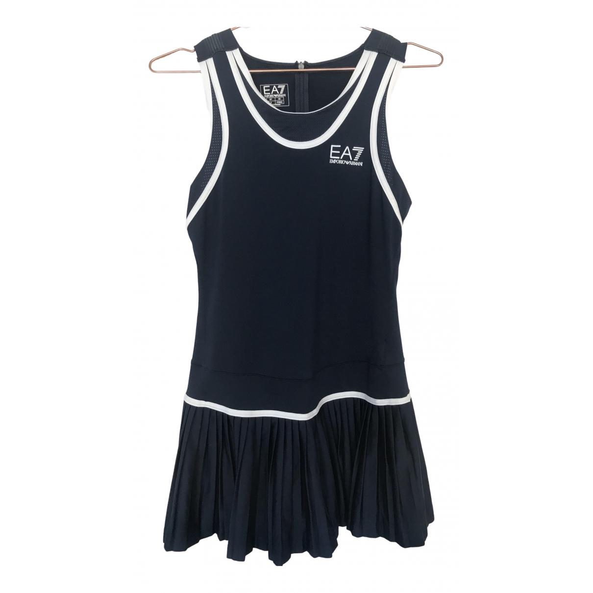 Emporio Armani - Tennis   pour lifestyle en coton - bleu