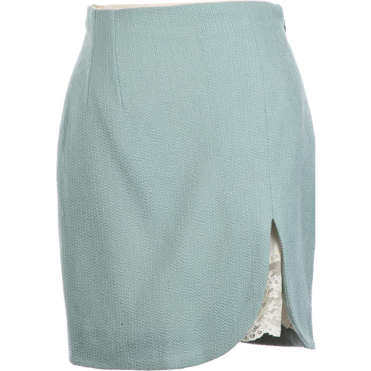 Dior - Jupe   pour femme en laine - vert
