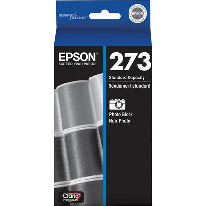 Epson T273120 cartouche d'encre originale noire photo