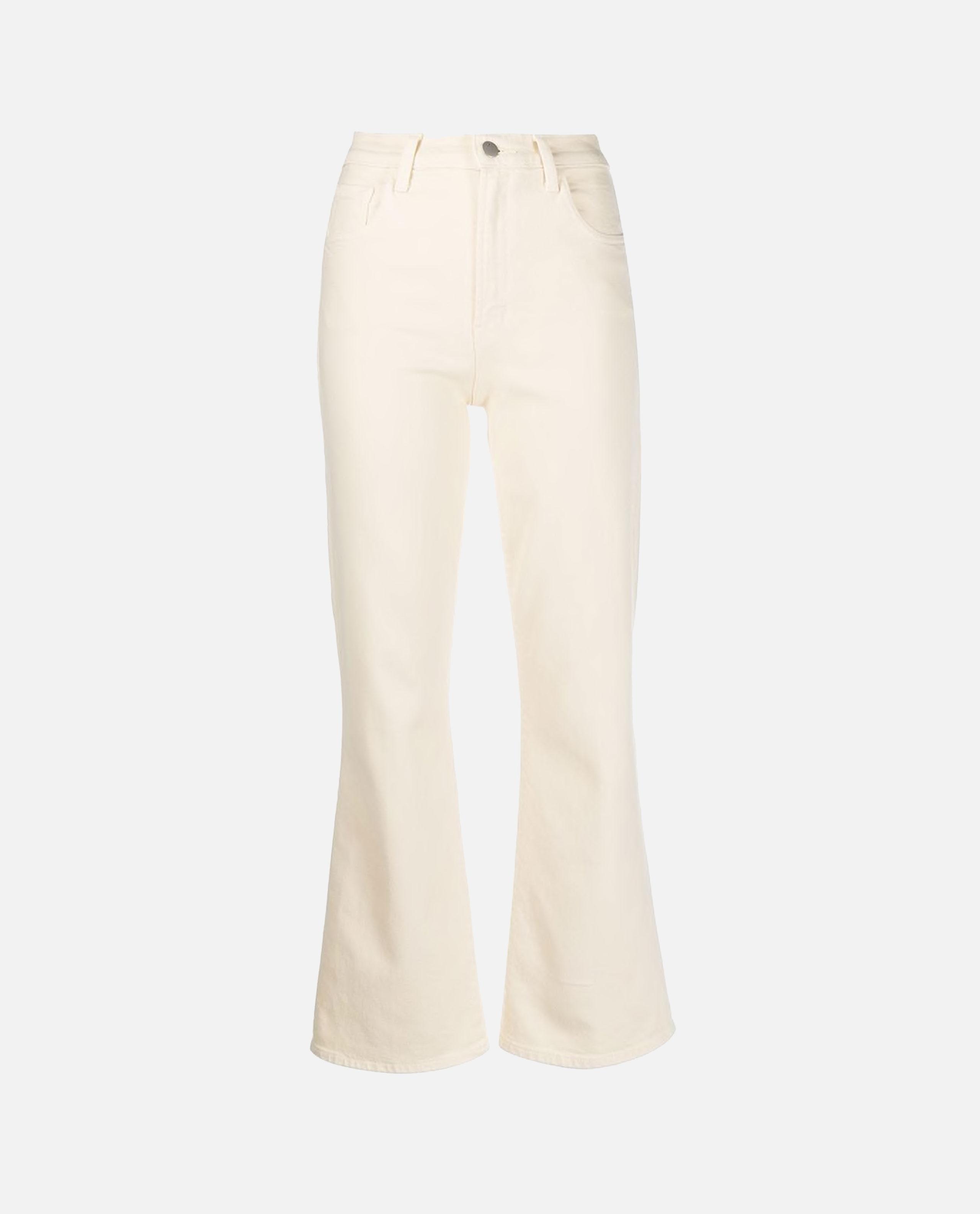 Flared slim jeans