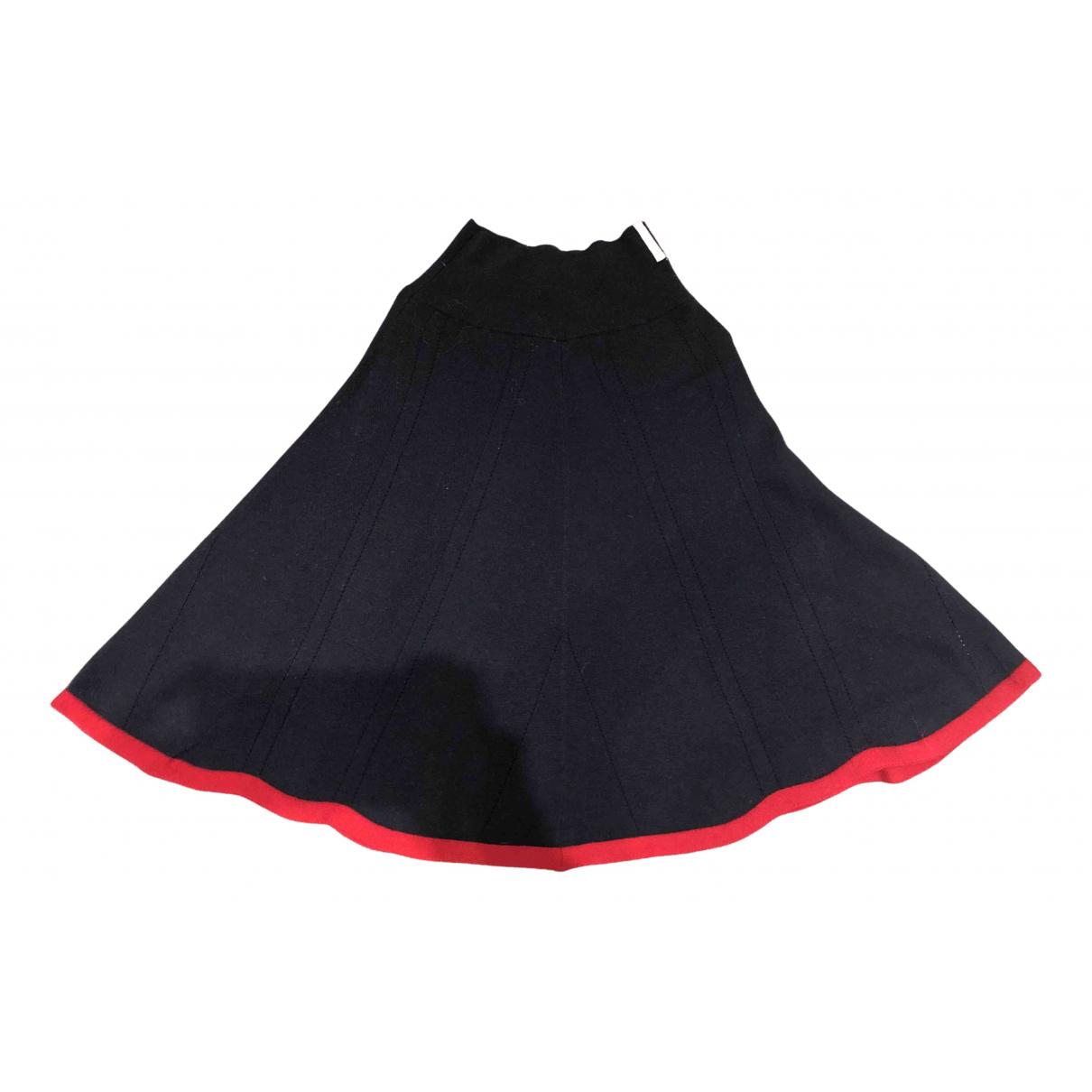 Brora N Navy Wool skirt for Women 8 UK