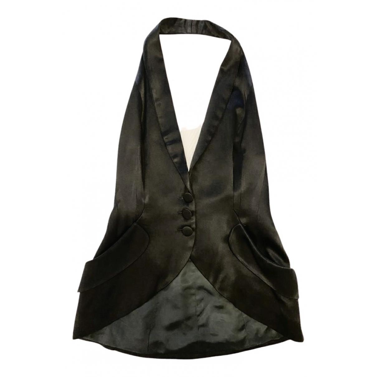 Norma Kamali N Black  top for Women 40 IT