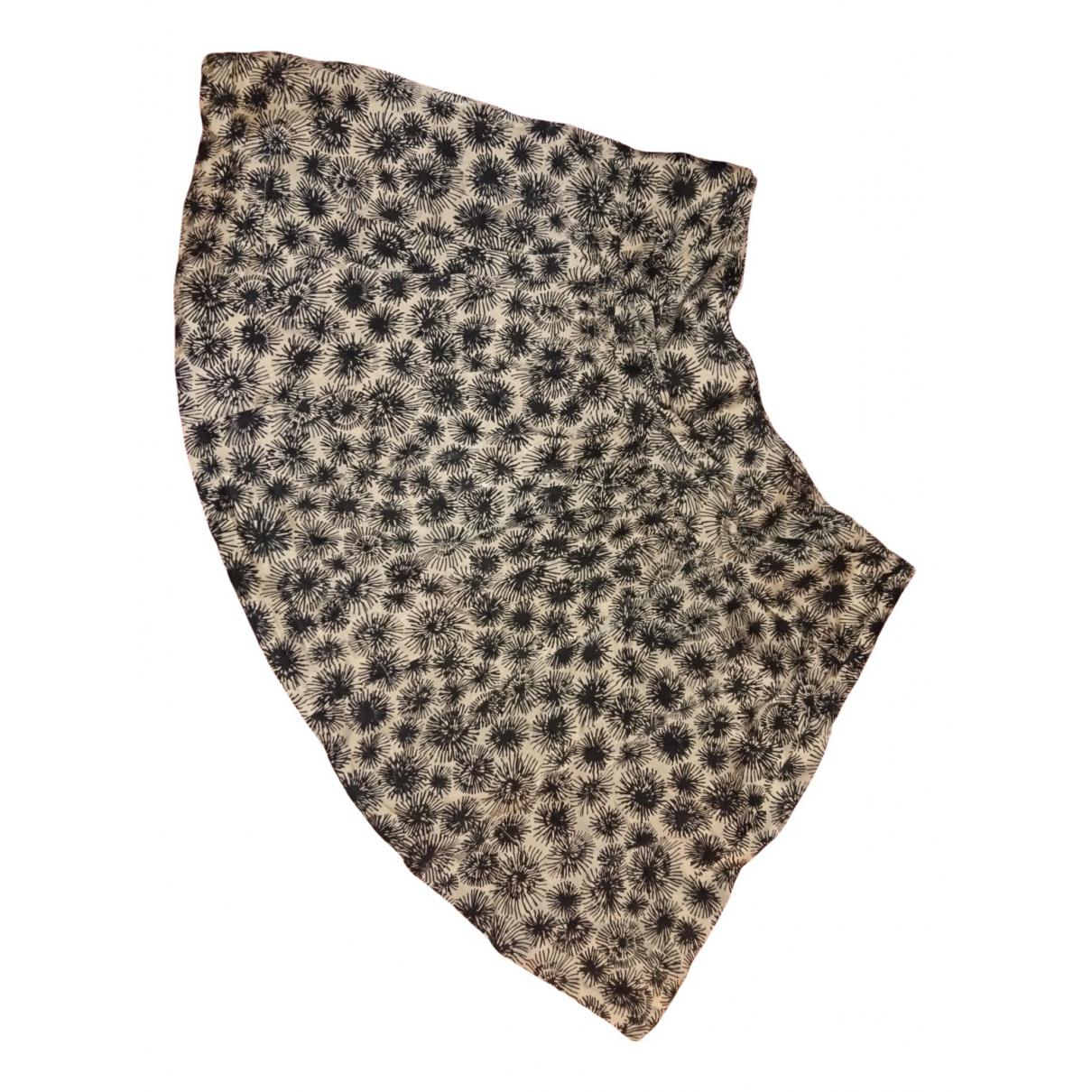 Comptoir Des Cotonniers - Jupe   pour femme en soie - noir