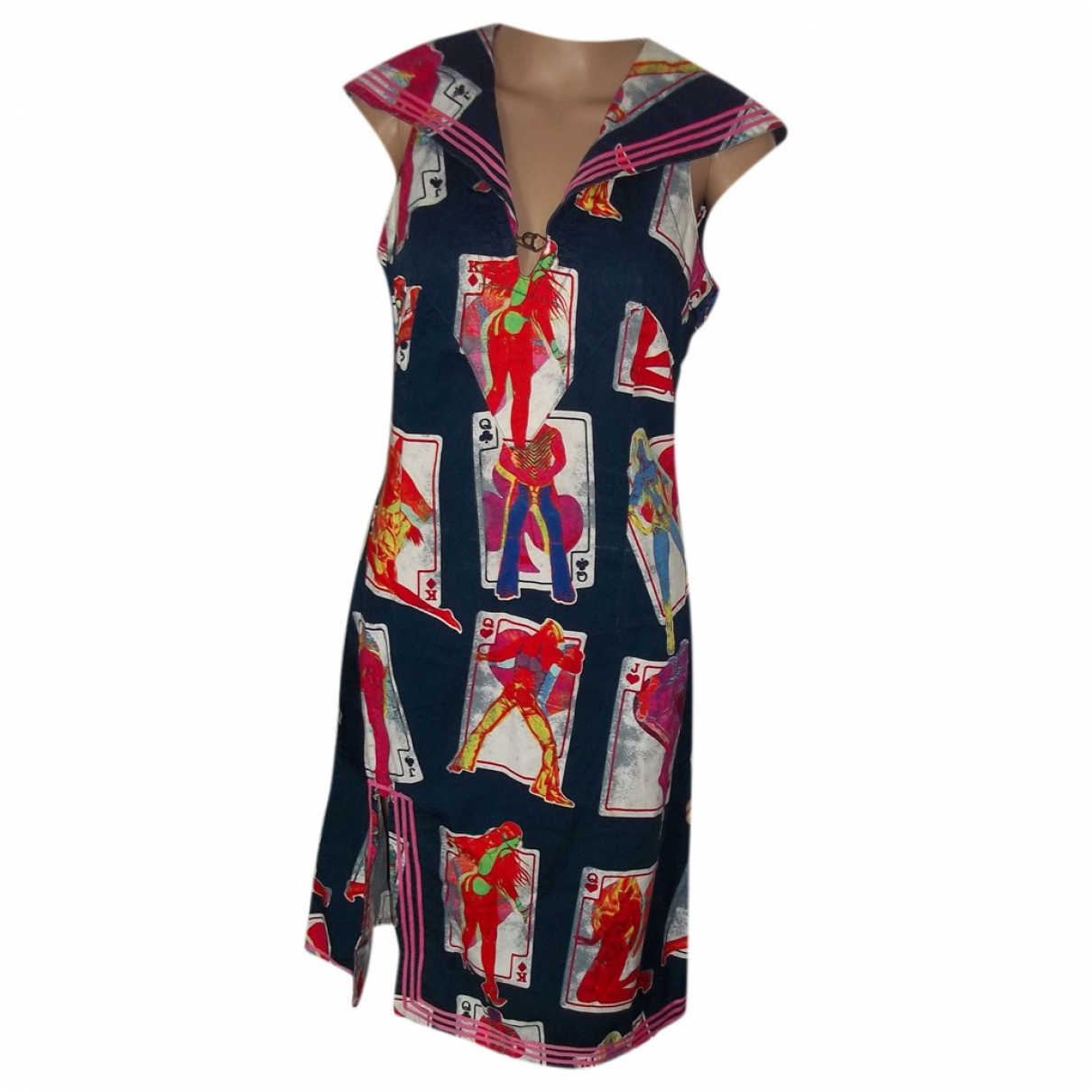 Jean Paul Gaultier \N Multicolour Cotton dress for Women 38 FR