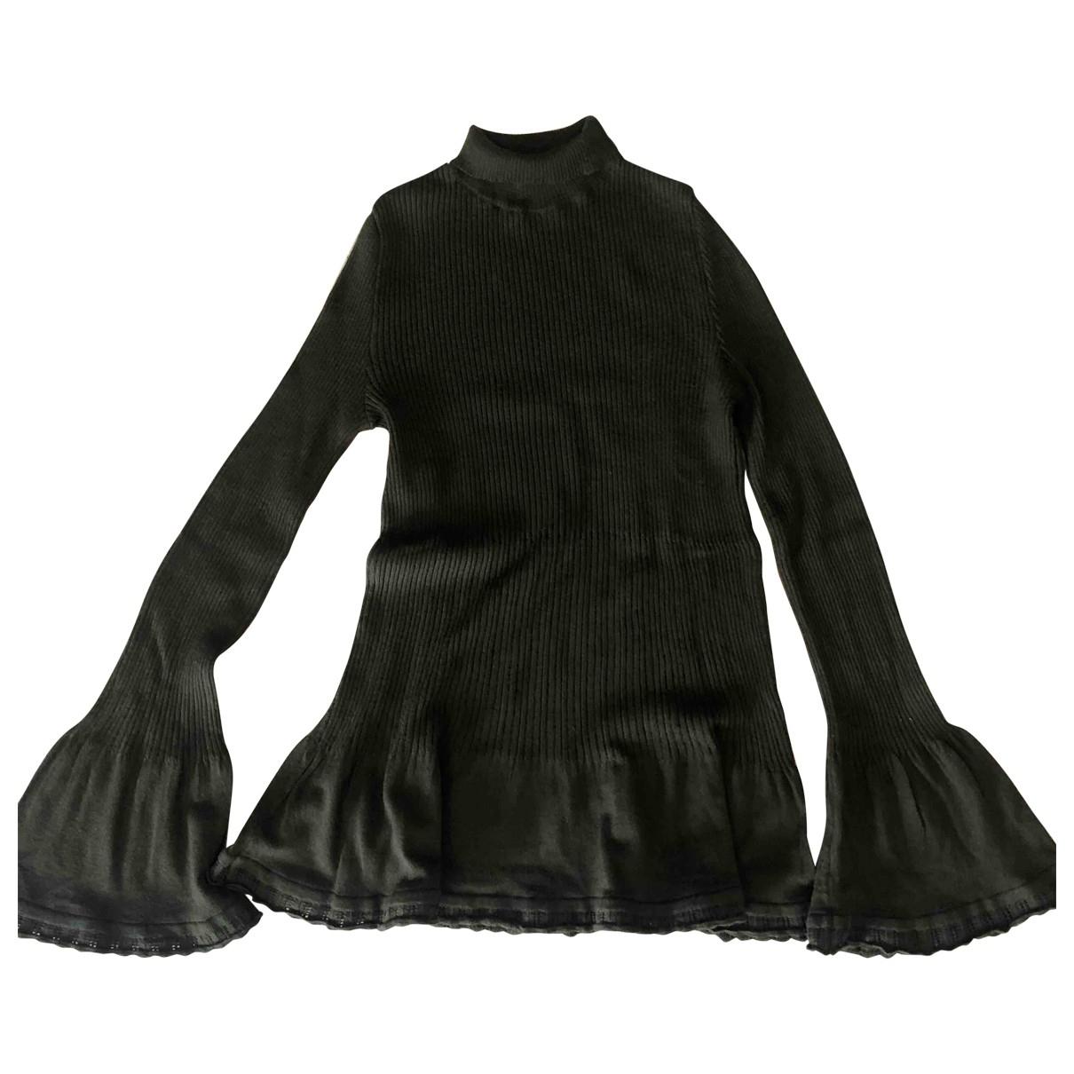 Alberta Ferretti - Top   pour femme en laine - vert