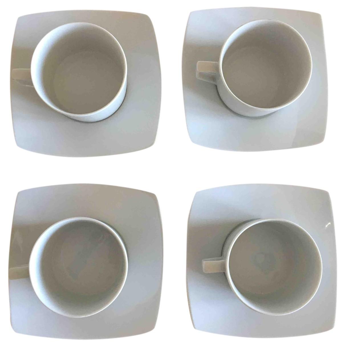 - Arts de la table   pour lifestyle en porcelaine - blanc