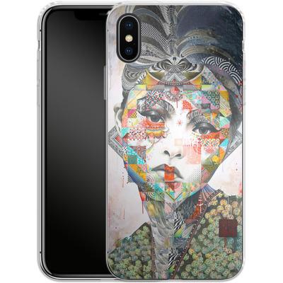 Apple iPhone X Silikon Handyhuelle - Devon Aoki von Minjae Lee