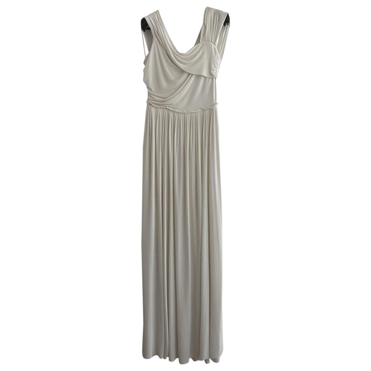 Dior \N Kleid in  Weiss Viskose