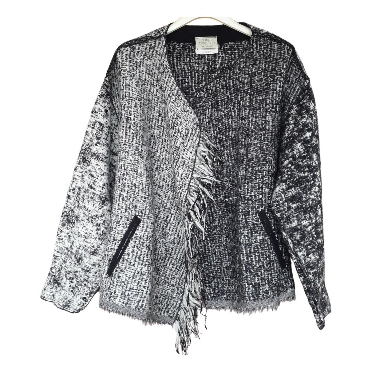 Forte_forte N Black Wool Knitwear for Women 1 0-5