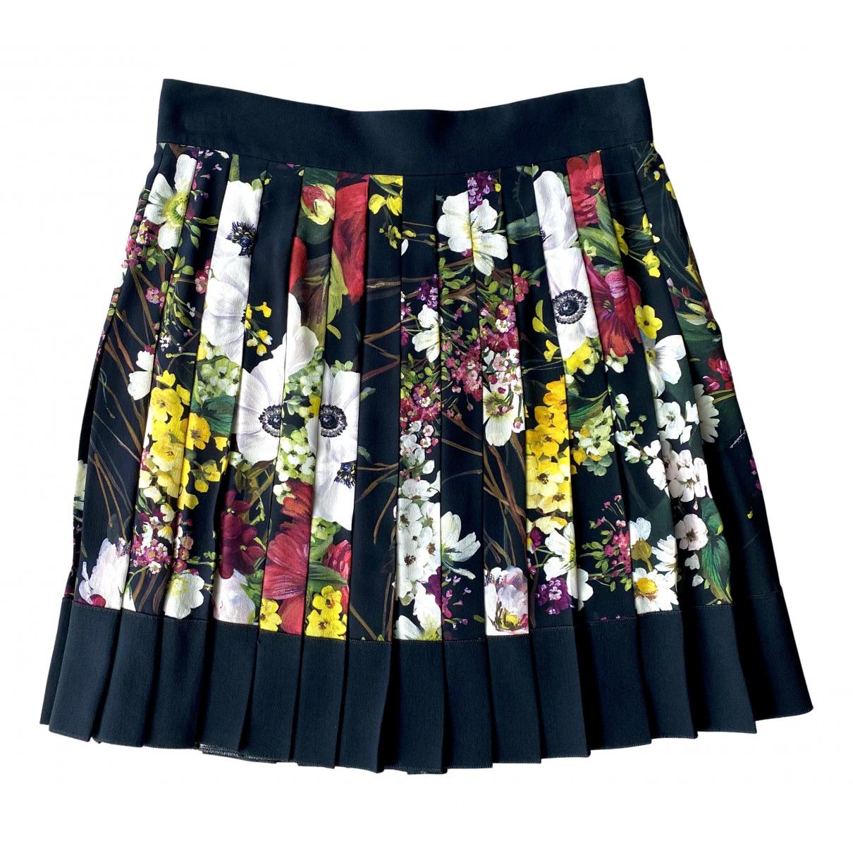 Dolce & Gabbana - Jupe   pour femme en soie - multicolore