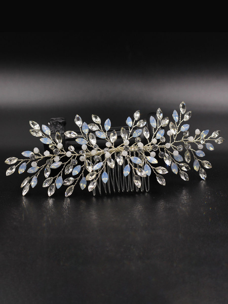 Milanoo Wedding Headpieces Headwear Rhinestone Bridal Hair Accessories