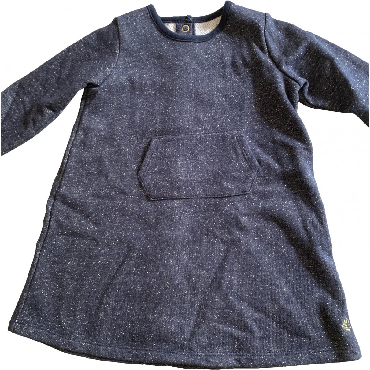 Petit Bateau \N Black Cotton dress for Kids 2 years - up to 86cm FR
