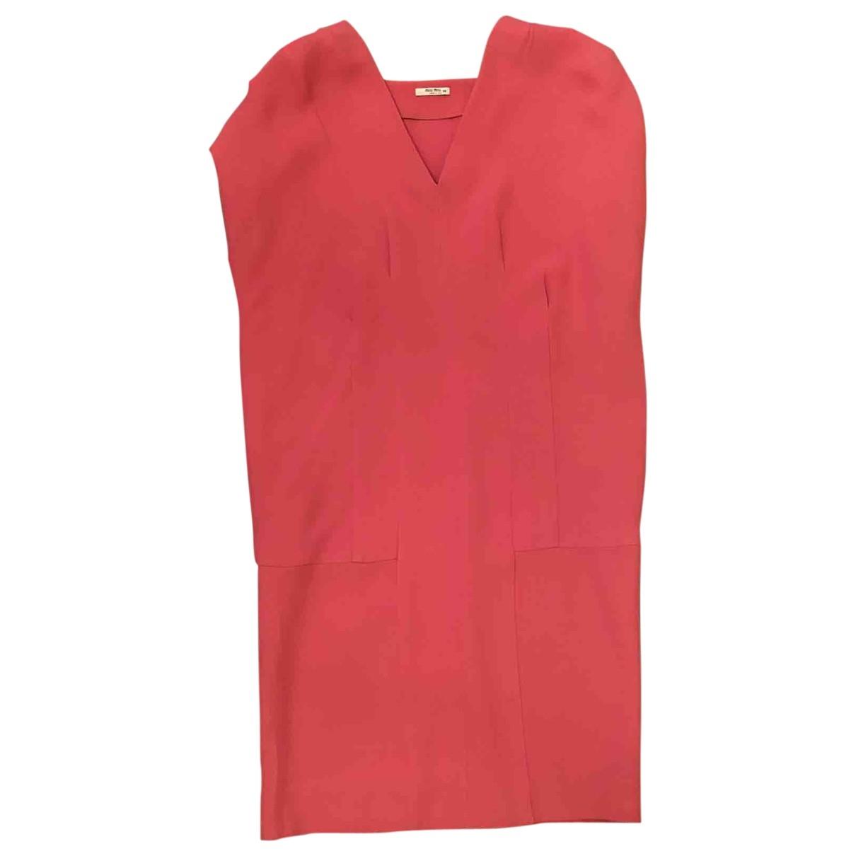 Miu Miu - Robe   pour femme - rose