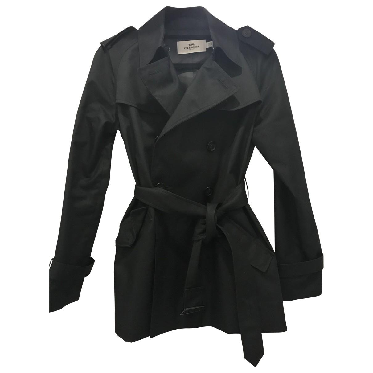 Coach - Manteau   pour femme - noir