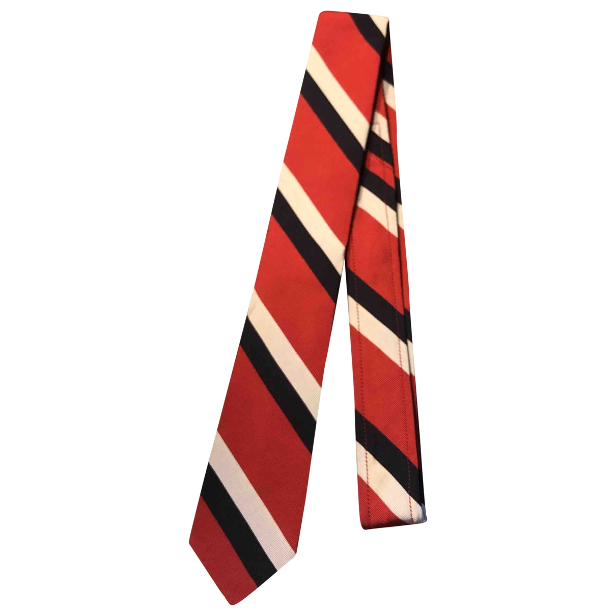 Thom Browne \N Krawatten in  Rot Seide