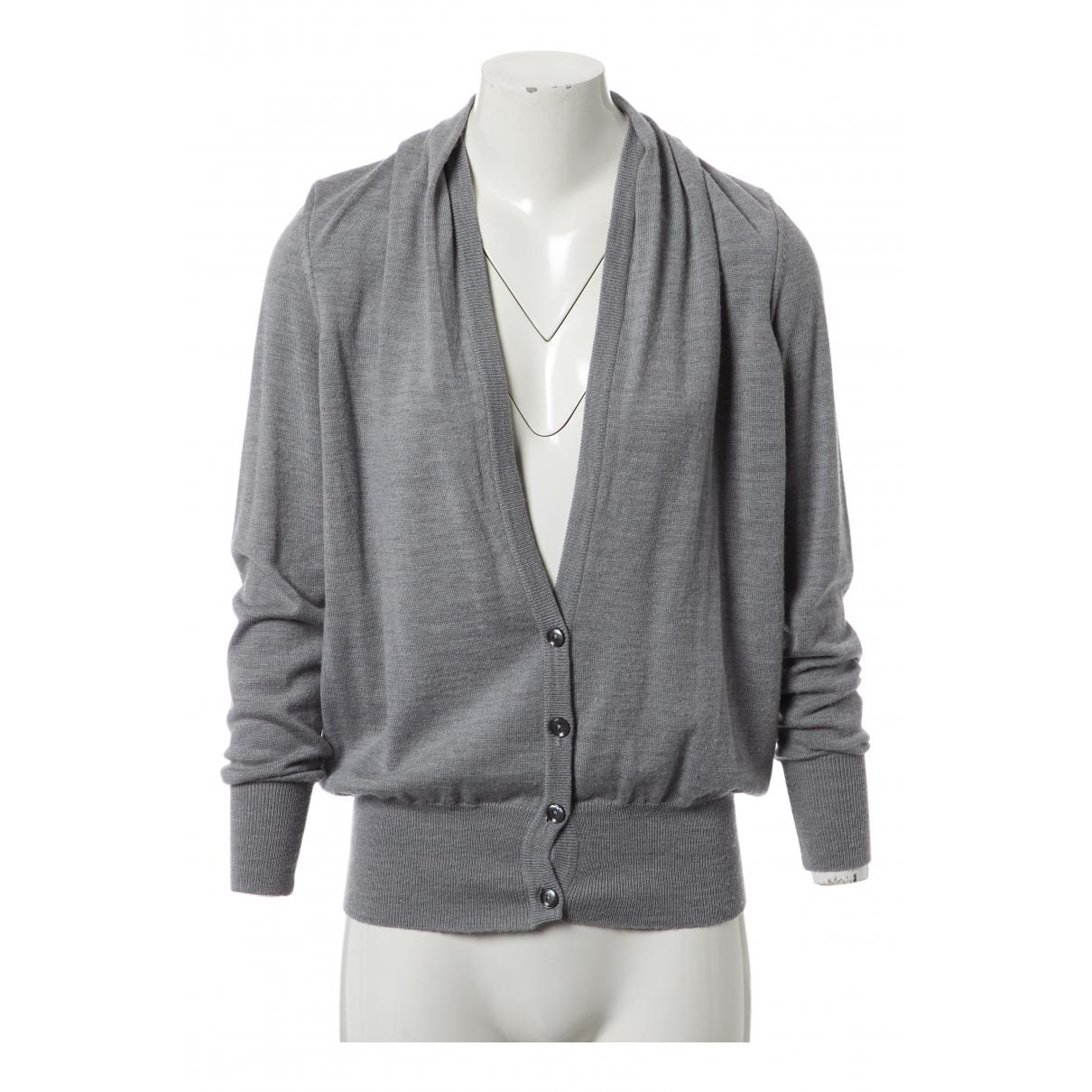 Maison Martin Margiela - Pull   pour femme en laine - gris