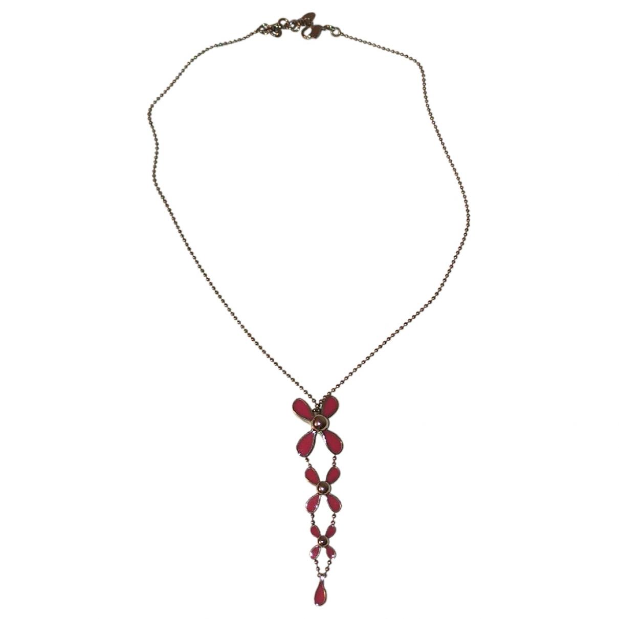 Swatch - Collier   pour femme en acier - rose